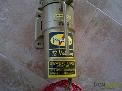 Electrobomba 12 V Super 15000