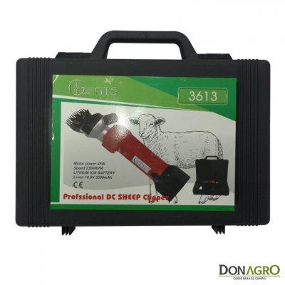 Esquiladora GTS 2013 con bateria