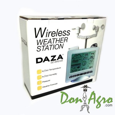 Estación Meteorológica DAZA DZ-WH3104