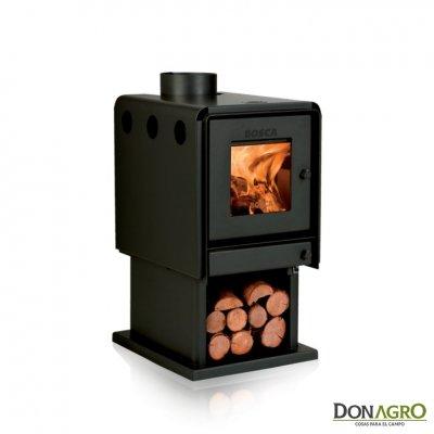 Estufa a leña Bosca L350 6.448 Kcal