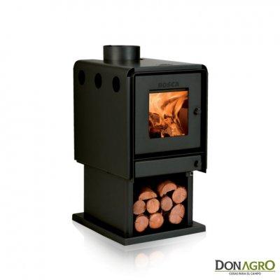 Estufa a leña Bosca L360 8.082 Kcal