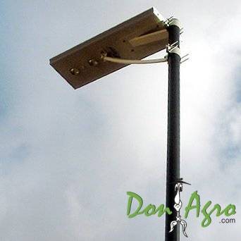 Farola luminaria solar LED 20w autonoma