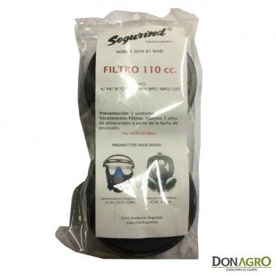 Filtro 110 cc para mascara respiradora