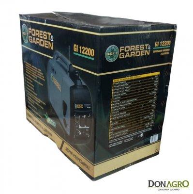 Generador Inverter 2Kw Forest & Garden GI 12200