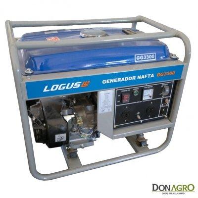 Grupo Electrógeno Logus GG3300E Arranque Elec