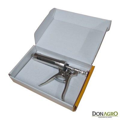 Jeringa Automática 50cc metal y policarbonato