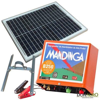 Kit Boyero Electrificador Solar Mandinga FIASA 60Km 2.0j