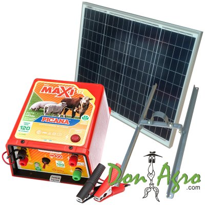 Kit Boyero Electrificador Solar Picana ENERTIK 120km 4.4j