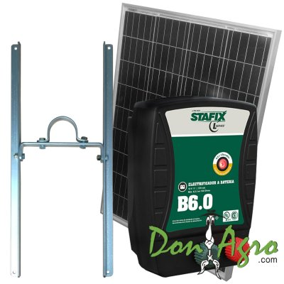 Kit Boyero  Electrificador Solar Stafix ENERTIK 150km 6,0j