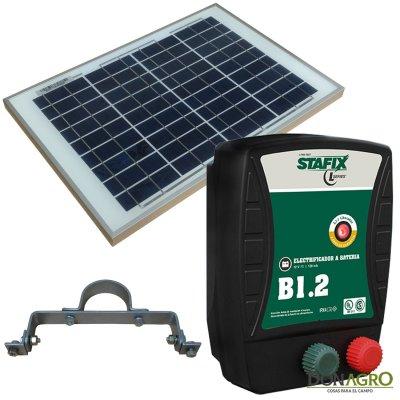 Kit Boyero Electrificador Solar Stafix ENERTIK 40km 1,2j