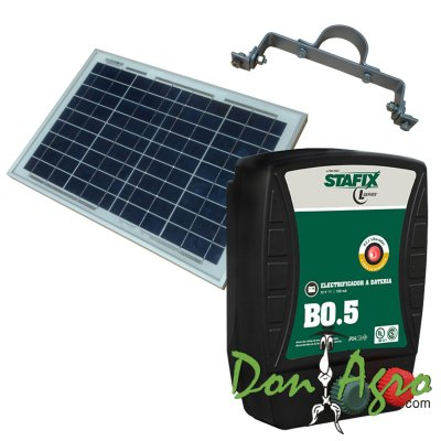 Kit Boyero Electrificador Solar Stafix FIASA 25km 0,5j