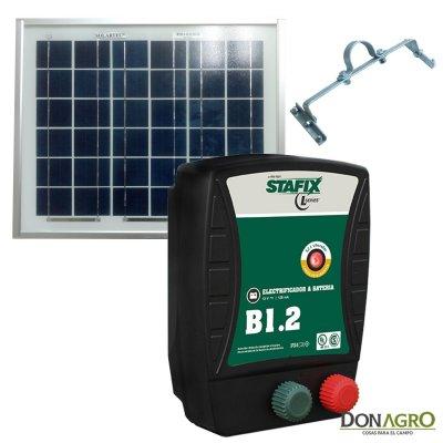 Kit Boyero Electrificador Solar Stafix SOLARTEC 40km 1,2j