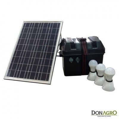 Kit de Iluminacion Solar Sol In One