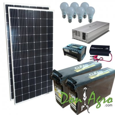 Kit Solar 1200w ECO (Financiacion)