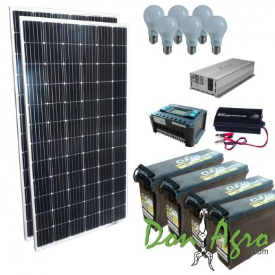 Kit Solar 600w Full (Financiacion)