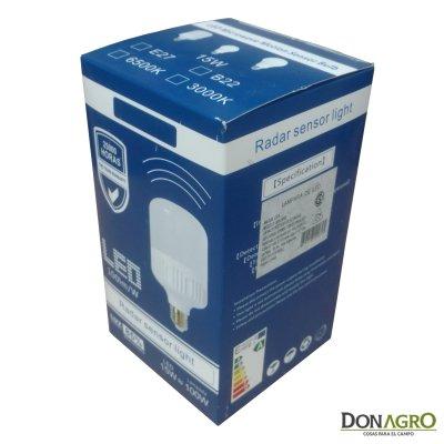 Lampara LED 220v 15w  con sensor
