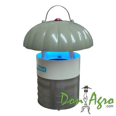 Lampara UV mata mosquitos portatil recargable