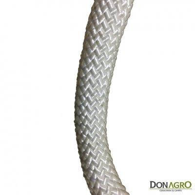 Lazo cabo nylon trenzado redondo 16mm x 14 mts