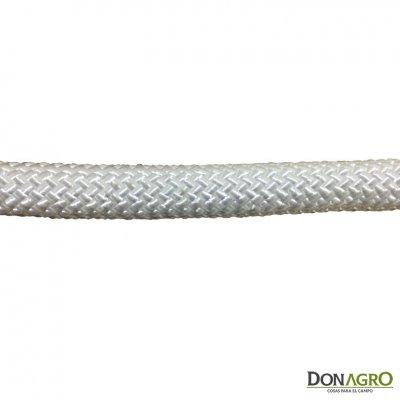 Lazo cabo nylon trenzado redondo 18mm x 14 mts