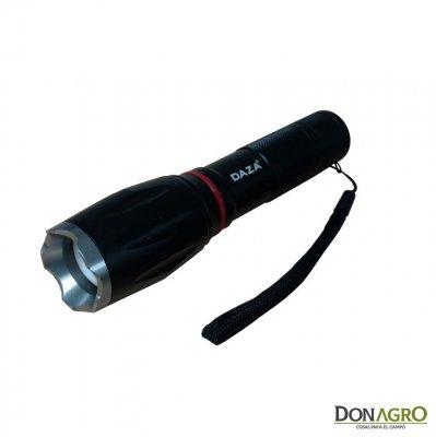 Linterna Tactica tipo Cree T6 LED con Baliza DAZA