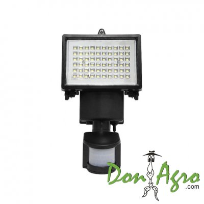 Luminaria LED Solar 60 Leds