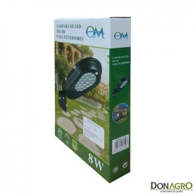 Luminaria Solar LED OM 8w