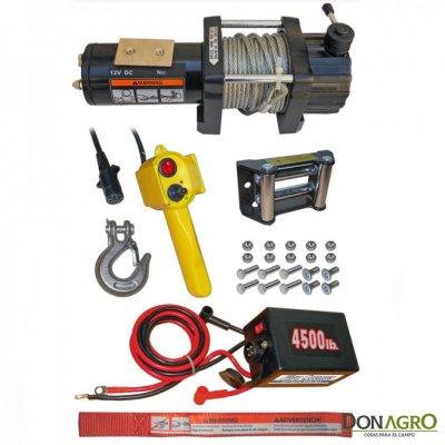 Malacate Electrico 12v 4500Lbs (2041Kg)