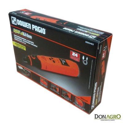 Minitorno manual a Bateria Recargable