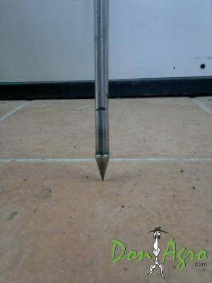 Muestreador de suelos para tosca