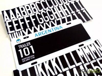 Patente para Carro Trailer Argentina