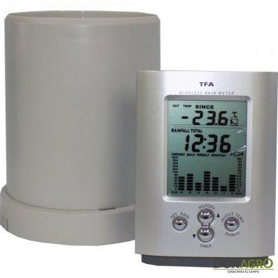 Pluviómetro con Sensor remoto y Alarma