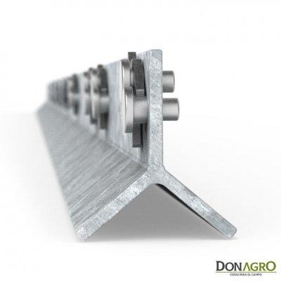 Poste Metalico Clipex Standar 2.00m