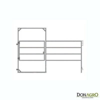 Puerta en panel Lemsco para equinos 1.80 alto