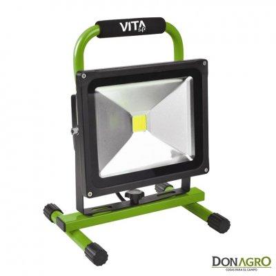 Reflector LED 12v 30w 1950lm Bateria Recargable