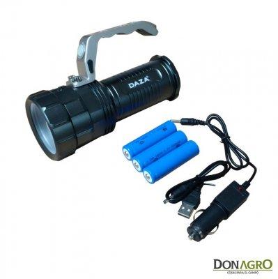 Reflector LED Daza Alimunio 10w 13000 lumenes
