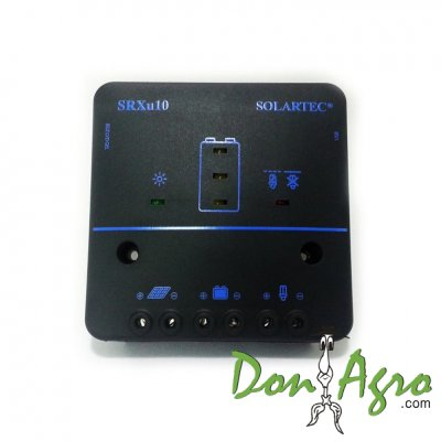 Regulador de voltaje carga solar 10 amp 12v / 24v SOLARTEC