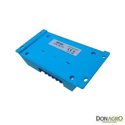 Regulador de voltaje carga solar 10 amp 12v SOLARTEC