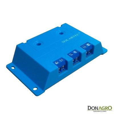 Regulador de voltaje carga solar 5 amp 12v SOLARTEC