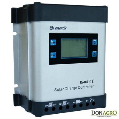 Regulador de Voltaje carga solar 80A 24v / 48v Enertik ENS-80-24/48