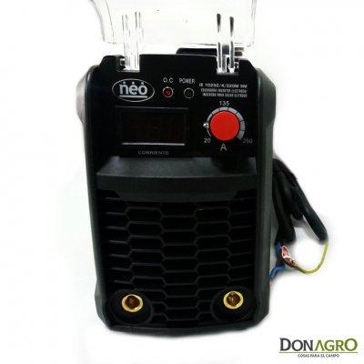 Soldadora Inverter Neo 250 Amp Industrial de Arco Dinamico