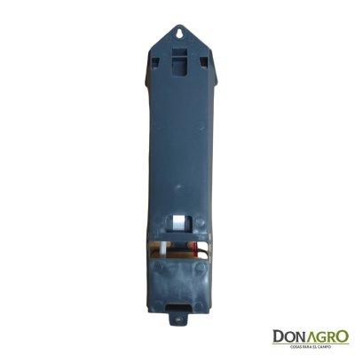 Termometro Psicrometro Aviso de Heladas c/soporte y base