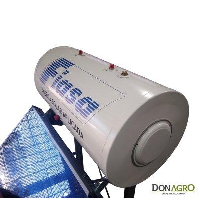 Termotanque Calefon Solar Plano Presurizable 120 lts