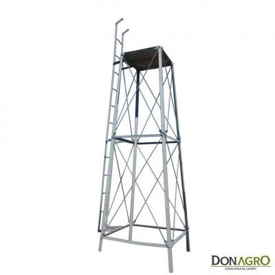 Torre para tanque Cilindrico de 1000lts