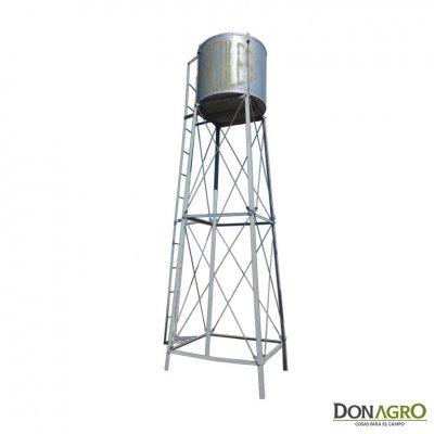 Torre para tanque Cilindrico de 4000lts