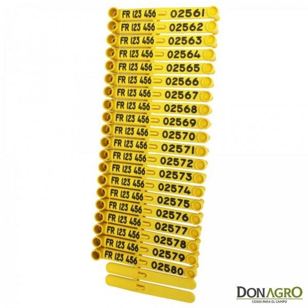 Caravana Numerada TagFaster ( x 200 unidades)