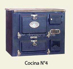 Cocina a leña ISTILART Nro 4