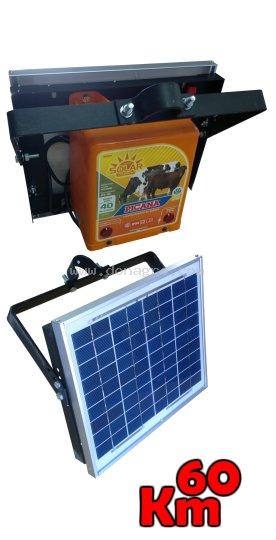 Electrificador Solar Picana 60km