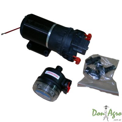 Bomba agua / agroquimicos ideal casilla FLOPOWER 12v 10Lts 20PSI